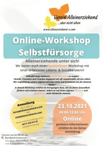 Online-Workshop Selbstfürsorge
